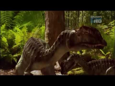 When Dinosaurs Roamed America - Dilophosaurus wetherli
