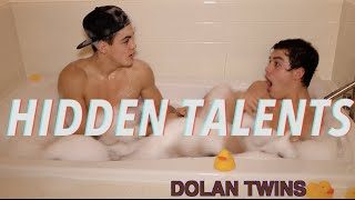 HIDDEN TALENTS?!?!? // Dolan Twins