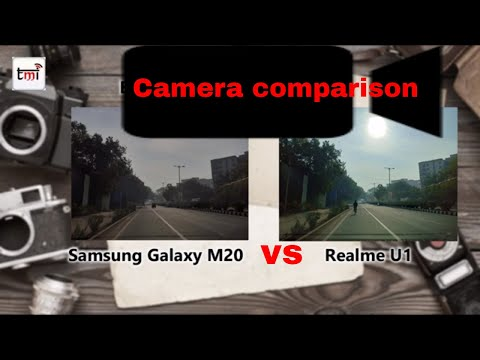 Samsung Galaxy M 20 vs Realme U1: Camera comparison