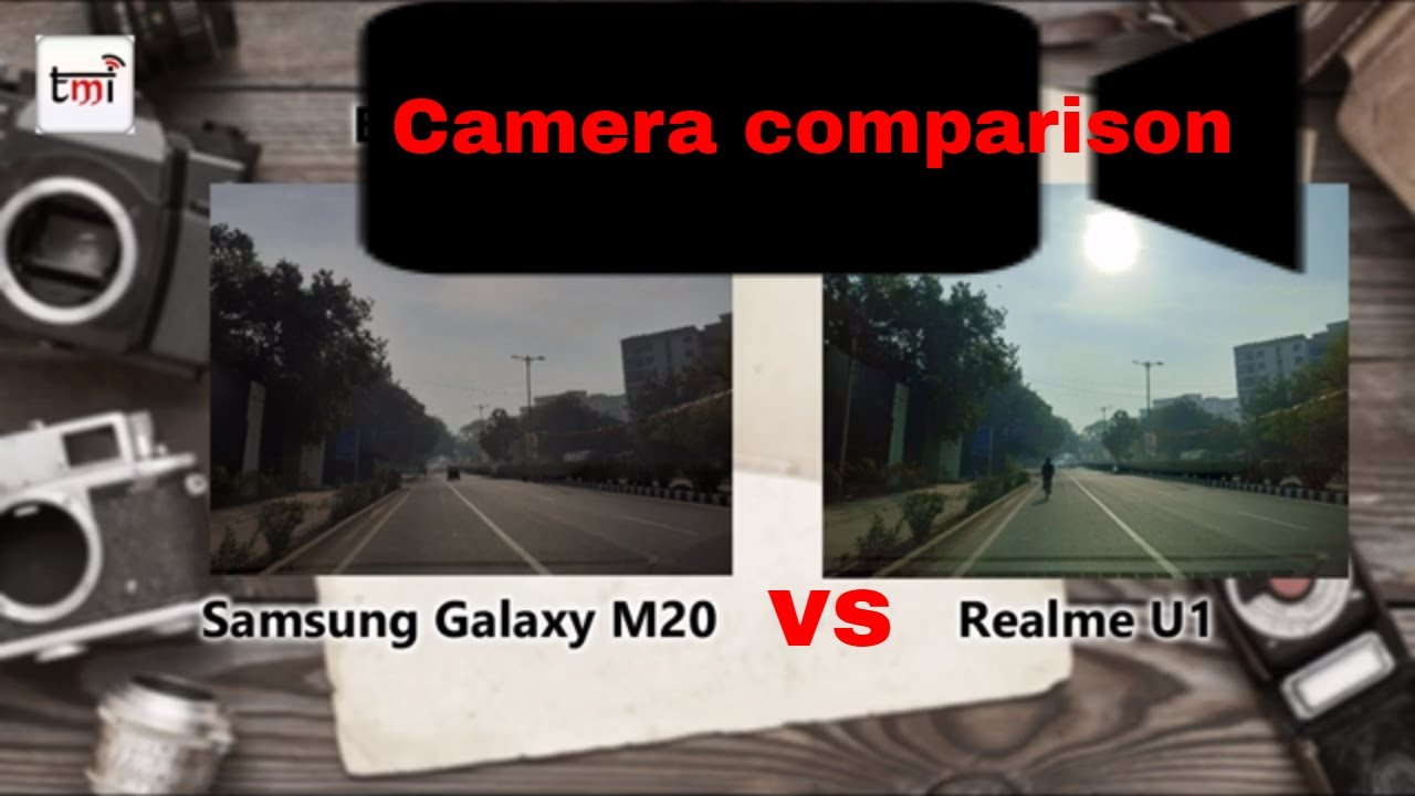 सैमसंग गैलेक्सी M20 Vs रीयलमी U1: कैमरा परफॉर्मेंस