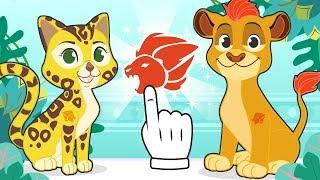 BABY PETS 🐱🐶 Kira y Max se disfrazan de Fuli y Kion de la Guardia del León 🦁 Dibujos animados