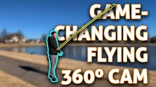 Impossible Flying Camera! Insta360 One X Drifter Dart + 10ft Invisible Selfie Pole