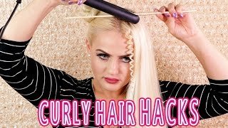 DIY CURLY HAIR HACKS PART 1