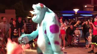 Dance Party At Disneyland
