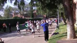 Madrid-Torreciudad, a ritmo olímpico