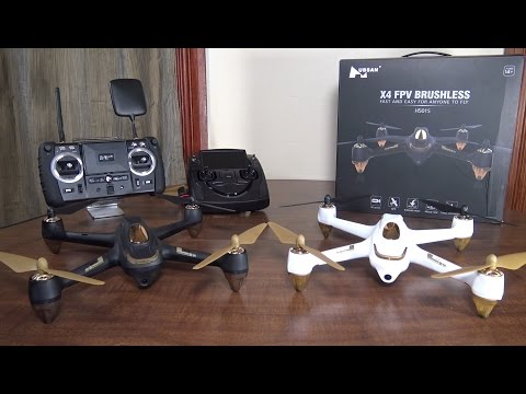 Hubsan - X4 FPV Brushless (H501S) - Review and Flight