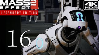 Mass Effect 2  Walkthrough Gameplay and Mods pt16  Hahne Kedar Facility 4K 60FPS HDR Insanity