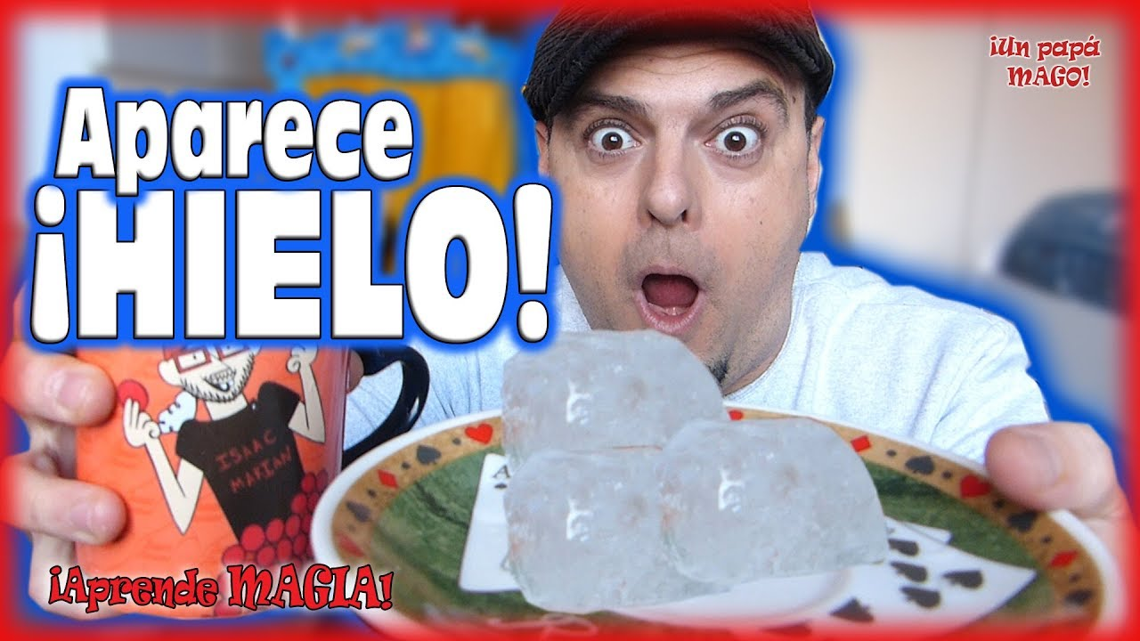 TRUCO DE MAGIA | APARECE HIELO | APRENDE MAGIA | UN PAPÁ MAGO | is Family Friendly