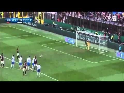 Jeremy Menez Goal AC Milan vs Frosinone 3 3 Serie A 2016
