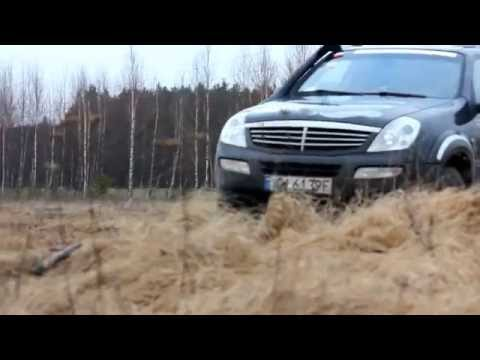 Ssangyong Rexton 2.7 XDI Off-Roading!