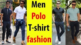 Polo T Shirts | Polo T Shirts For Men | Polo T Shirt With Formal Pants | Men Semi Formal Outfit 2019