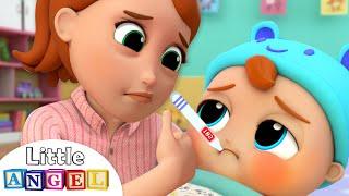 Baby is Sick | Twinkle Twinkle Little Star Song | Little Angel Kids Songs & Nursery Rhymes