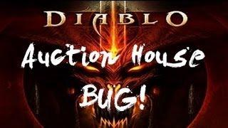 Diablo III Auction House  bug!!