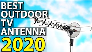 ✅ TOP 5: Best Outdoor TV Antenna 2020