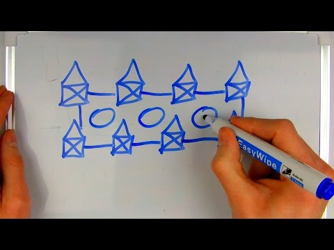 ASMR writing and drawing with a marker on a whiteboard