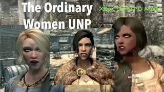 Skyrim SE Xbox One/PC Mods|The Ordinary Women UNP