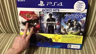 PS4 Slim + 3 игры. Доставка с фирменного магазина Sony.