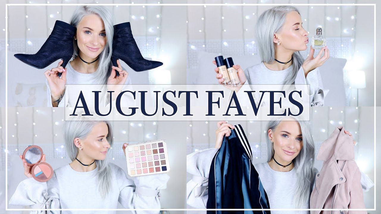 AUGUST FAVOURITES | FASHION AND BEAUTY I'M REALLY INTO