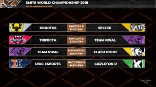 [Rebroadcast] SMITE World Championship: Day 1