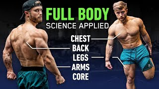 The Most Effective FULL BODY Workout For Growth [Science Applied 1]