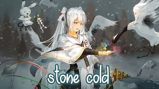 Nightcore   Stone Cold   Demi Lovato (Lyrics)
