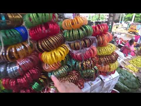 412. Каждый вторник рынок в соседней деревне Yannapalli. Едем смотреть. Индия. Путтапарти.