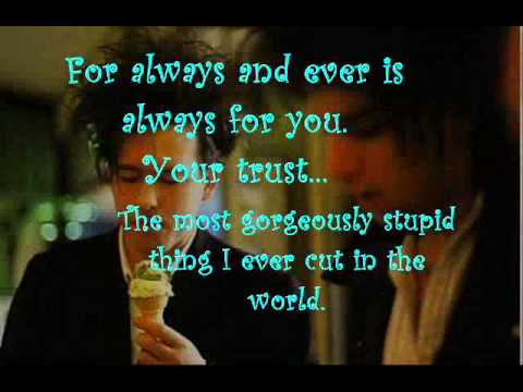 The Cure - A Night Like This Lyrics