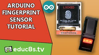 Arduino Tutorial: Use a Fingerprint sensor module to add biometric security to your Arduino projects