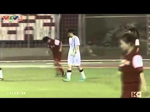 Đội tuyển nữ Việt Nam cho Khựa Ăn hành 4-0 @@ chuyền dài lốc bóng qua đầu thủ môn