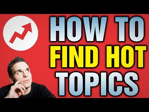 How To Find Hot Topics for youtube videos Urdu/HindiTutorial
