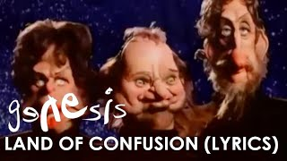 Genesis - Land Of Confusion (Official Lyrics Video)