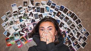 i tried taking 100 polaroids in ONE DAY