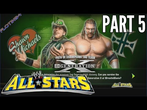 WWE All Stars Ep.5 | Path of Champions Tag Team D-Generation X Part 1 |CZ/SK|
