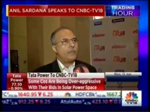 Mr. Anil Sardana, CEO & MD, TATA Power interaction with CNBC TV 18