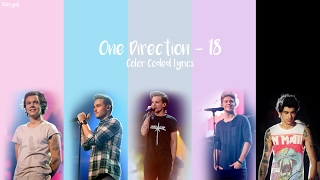 One Direction   18 (Lyrics)