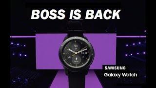 New Samsung Galaxy Watch Tizen 4.0 - Hands On & Review