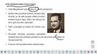 Eğitim Vadisi AYT Edebiyat 14.Föy Cumhuriyet Dönemi Saf Şiir Anlayışı 1 Konu Anlatım Videoları