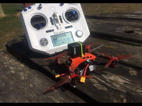 babyhawk R first flight trananis q7 firefly cam