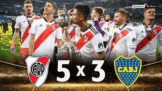 River Plate 5 x 3 Boca Juniors ● 2018 Libertadores Final Extended Highlights & Goals HD