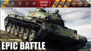 Объект 140 на СКИЛЛЕ!!! 🌟 медаль Колобанова 🌟 World of Tanks лучший бой на СТ