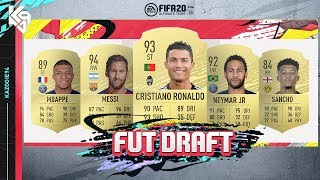 My First FUT Draft! ft. Cristiano Ronaldo | FIFA 20 Ultimate Team