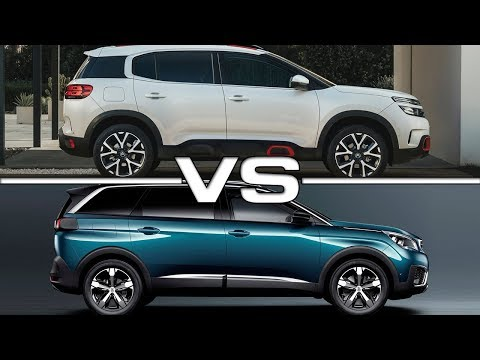 2019 Citroen C5 Aircross vs 2018 Peugeot 5008 Technical Specifications