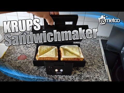 Krups Sandwichmaker - Krups FDK 451 Sandwich Toaster