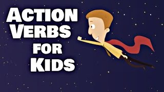 Action Verbs For Kids   Language Arts Video Lesson