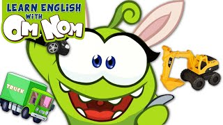Build Construction Vehicles Street Vehicles for Kids   Learning Cartoon for Children by Om Nom
