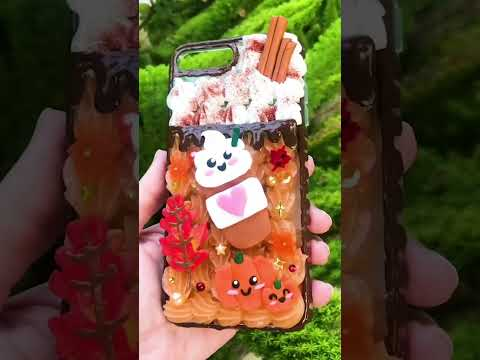 Pumpkin Spice Decoden Phone Case #shorts