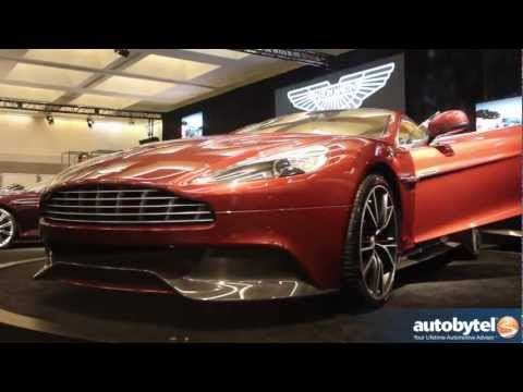 2014 Aston Martin Vanquish At The LA Auto Show