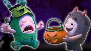 Oddbods : Halloween Special | Candy Monsters | Oddbods & Friends