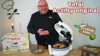 Tefal actifry Heißluftfritteuse im Test Review / Tefal actifry original Fritteuse FZ71