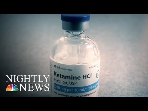 Doctors Say 'Club Drug' Ketamine Rescues Suicidal Patients | NBC Nightly News